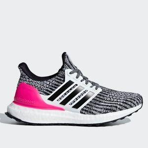 adidas UltraBOOST J Pink Oreo